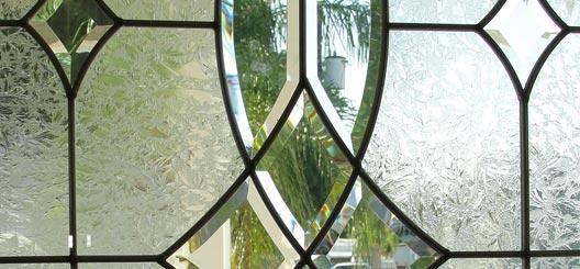 glas in lood schuifdeuren Friesland